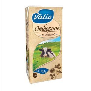 Молоко Valio 1л, жирность 3,5-4,5% Отборное