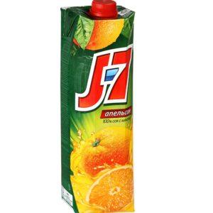 Сок J7 Апельсин с мякотью 0,97
