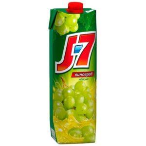 Сок J7 Белый виноград и яблоко 0,97