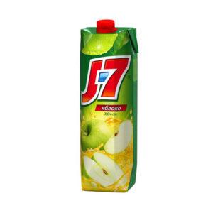 Сок J7 Яблоко осветленное 0,97