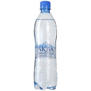 Минеральная вода Аква Минерале без газа 0,6