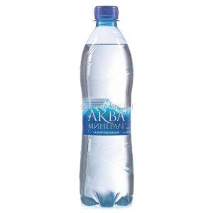 Минеральная вода Аква Минерале газированная 0,6