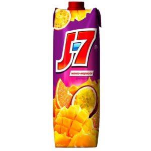 Сок J7 Апельсин, маракуйя, манго 0,97