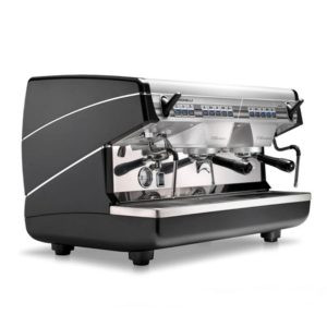 Кофемашина Nuova Simonelli Appia II 2Gr V black+economizer+high groups, высокая группа, автомат