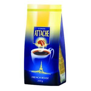 Кофе зерновой Attache 250 гр ( Французская обжарка)