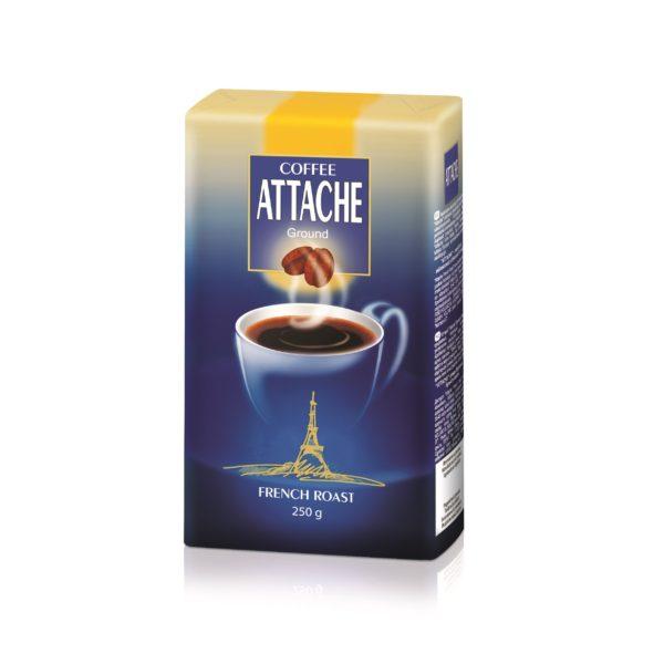 Кофе молотый Attache 250 гр (Французская обжарка)