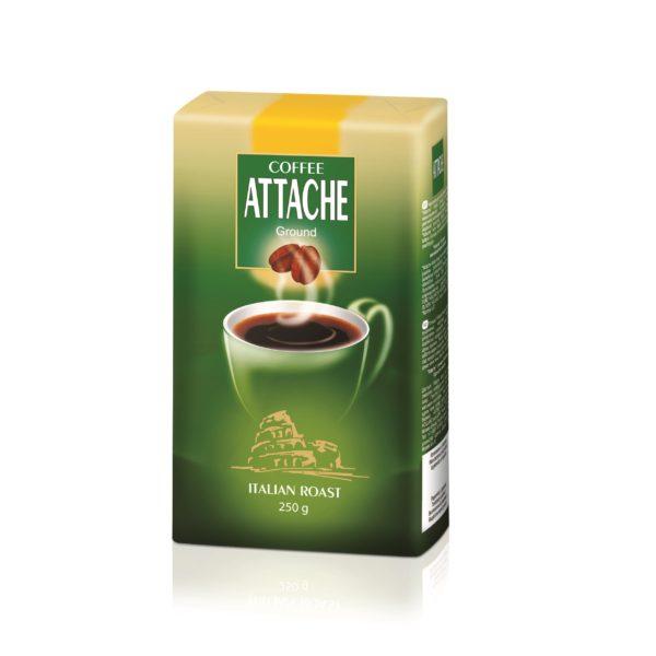 Кофе молотый Attache 250 гр (Итальянская обжарка)