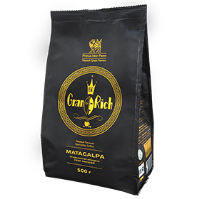 Кофе зерновой Gran Rich Matagalpa 500 гр (Итальянская/сильная обжарка )