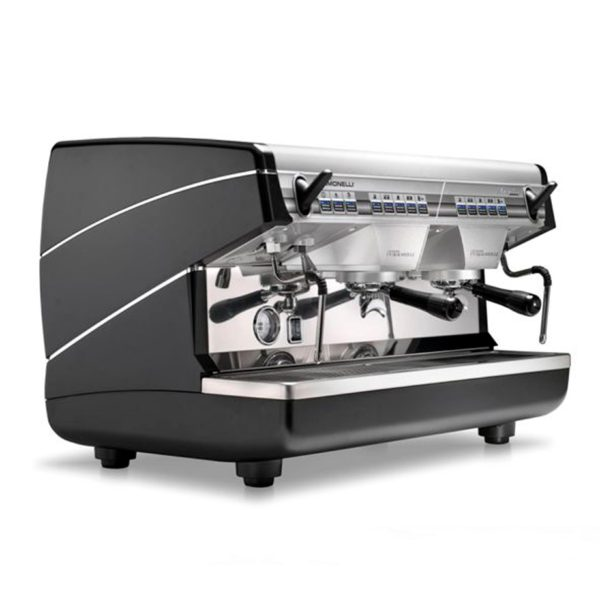 Кофемашина Nuova Simonelli Appia II 2Gr V 220V black+economizer, низкая группа, автомат