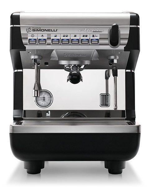 Кофемашина Nuova simonelli Appia II 1Gr V black, высокая группа, автомат