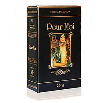 Молотый кофе Pour Moi 250 uh (железная банка)