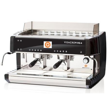 Кофемашина Visacrem V6 PLUS 2gr. Grouptronic, дисплей, автостим, высокая группа