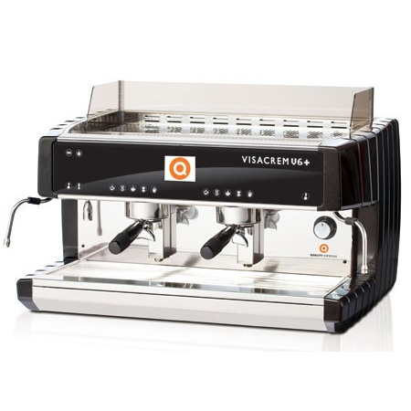 Кофемашина Visacrem V6 PLUS 2gr. Grouptronic, дисплей, высокая группа