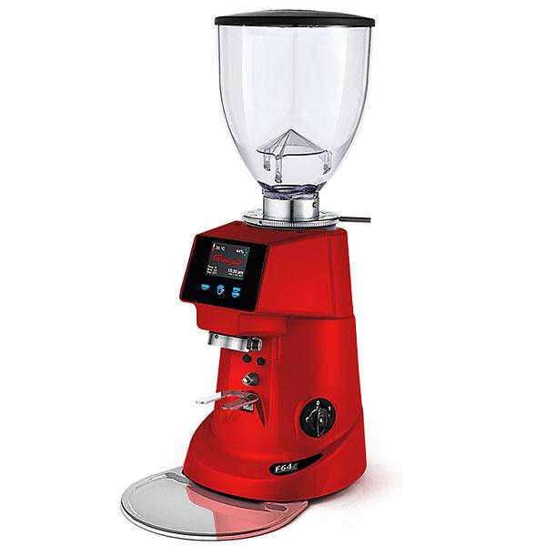 Кофемолка для кофемашины Fiorenzato F64E красный