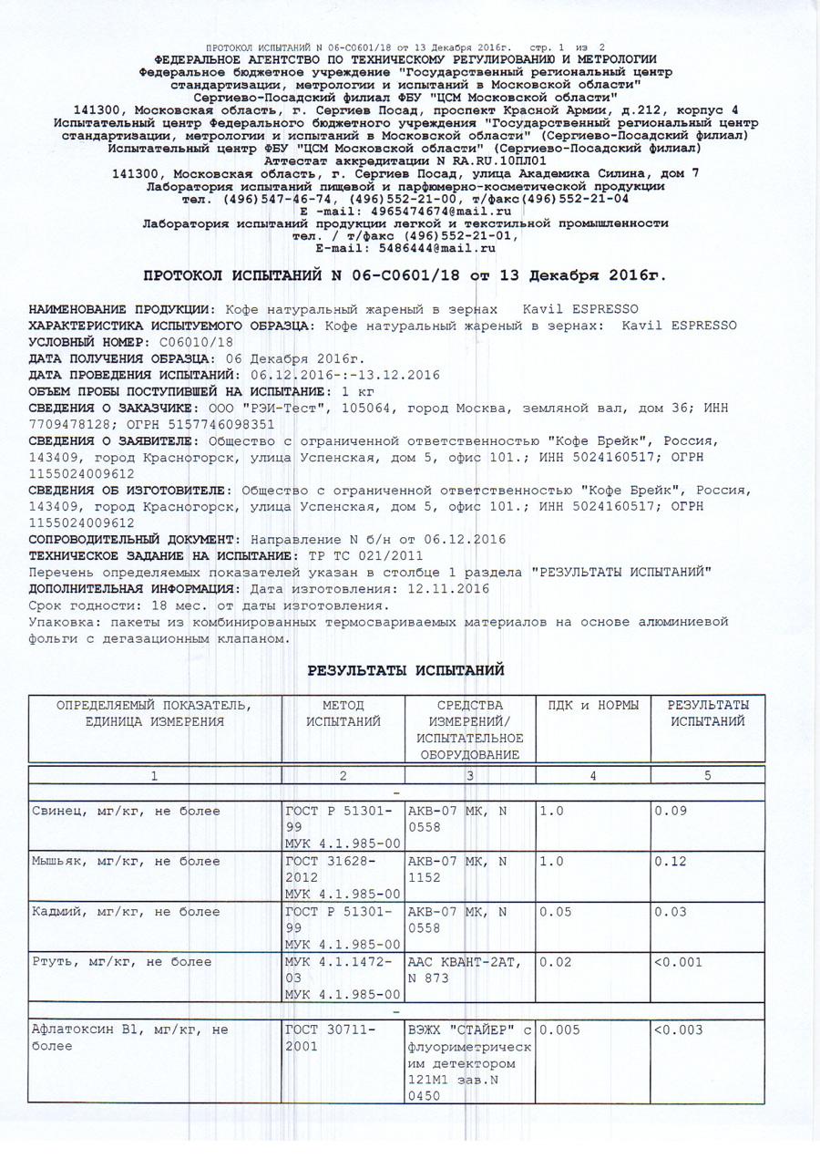 Протокол испытаний стр1