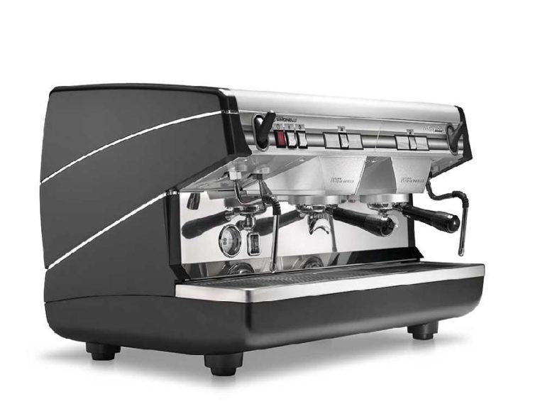Кофемашина Nuova simonelli Appia II Compact 2Gr S 220V black+economizer, полуавтомат