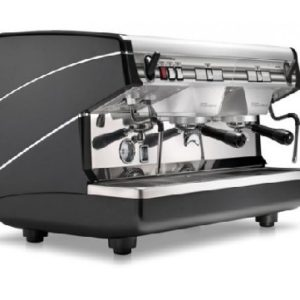 Кофемашина Nuova simonelli Appia II Compact 2Gr S 220V black+economizer+high groups, высокая группа, полуавтомат