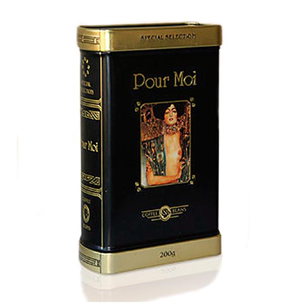 Кофе зерновой Pour Moi 200 гр (железная банка)