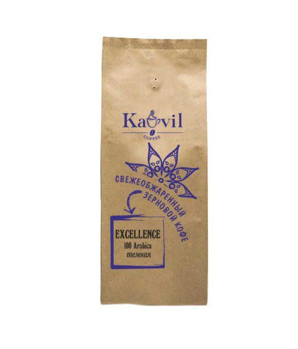 Кофе зерновой Kavil EXCELLENCE темная обжарка